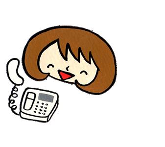 【便利屋】 暮らしなんでもお助け隊 福岡西店にお客様が電話にて問い合わせしている